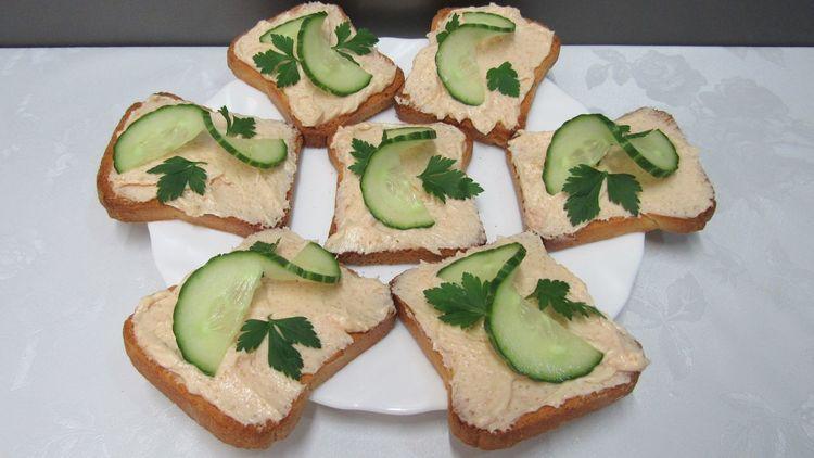 Икорное масло для бутербродов