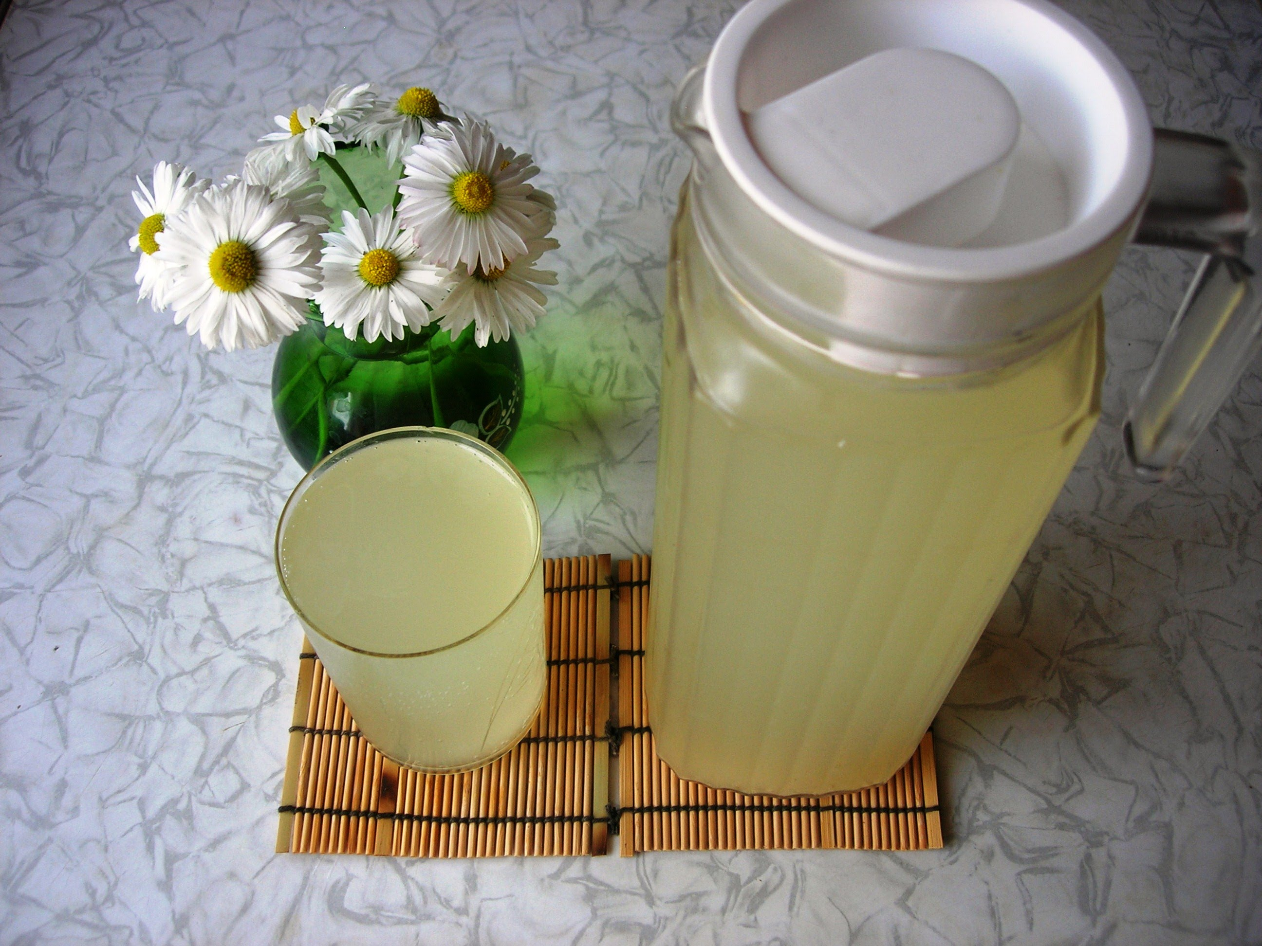 Имбирно-лимонный квас