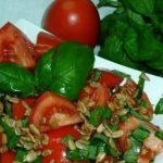 Южно-русский салат с акцентом