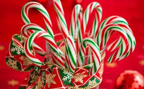 Конфеты домашнего приготовления «Рождественские карамельные трости»