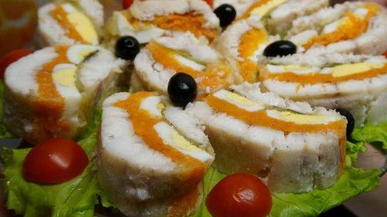 Холодная закуска из рыбы по-царски