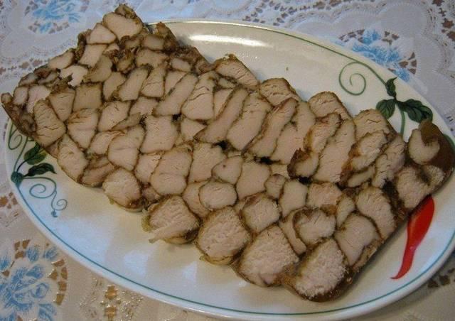 Закуска «Мраморное мясо»