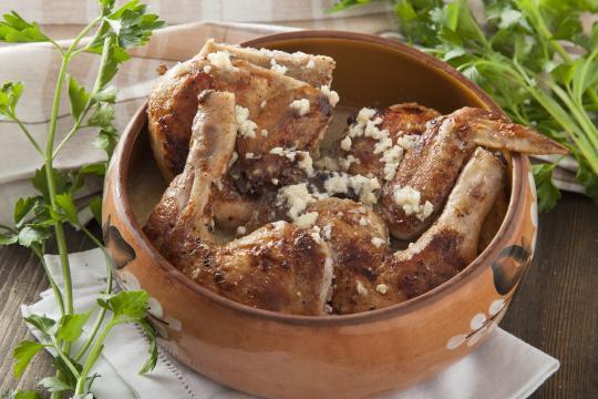 Цыпленок табака (чкмерули)