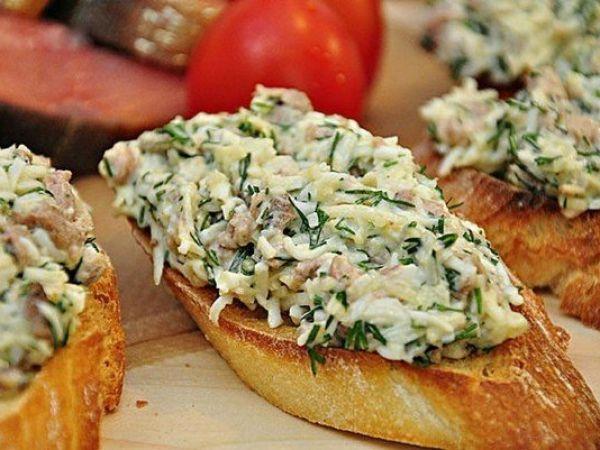 Простые и быстрые бутерброды
