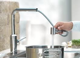 Смесители для кухни с выдвижным изливом