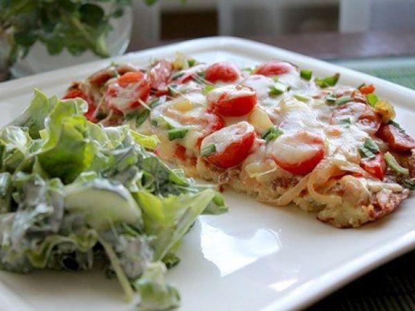 Как приготовить сытную картофельную пиццу?