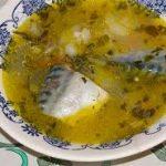 Рыбный суп из скумбрии