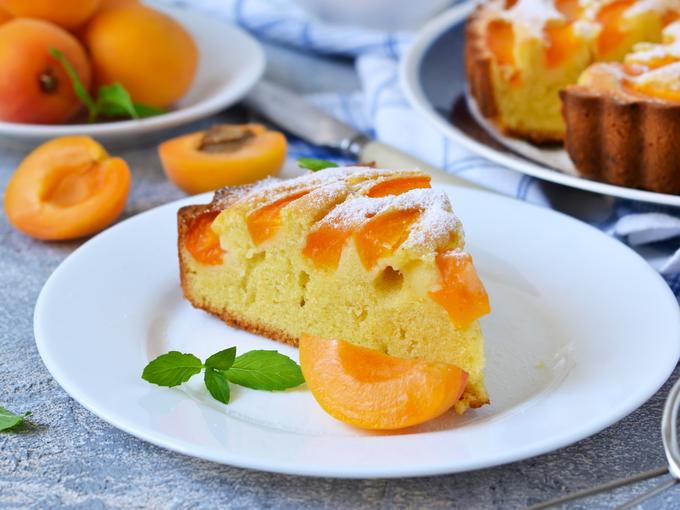 Кекс с абрикосами «Солнечный»