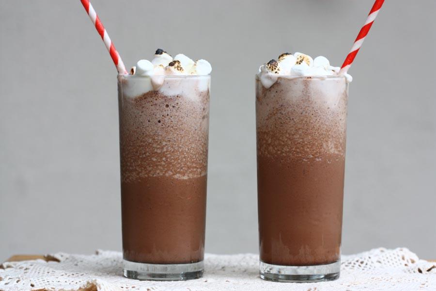Кофейно-шоколадный коктейль
