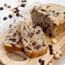 Кекс с орехами и шоколадом
