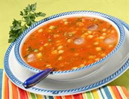Фасолевый суп с кукурузой