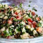 """""""Ламия"""" салат с кус-кусом"""