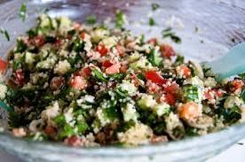 «Ламия» салат с кус-кусом