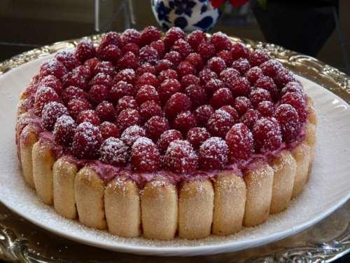 Торт-мусс из ягод