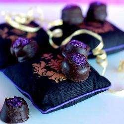 Шоколадные трюфели с лесным орехом