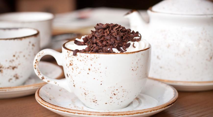 Чизкейк из домашнего творога с шоколадом