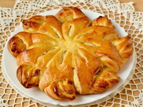 Пирог «Кружевница»