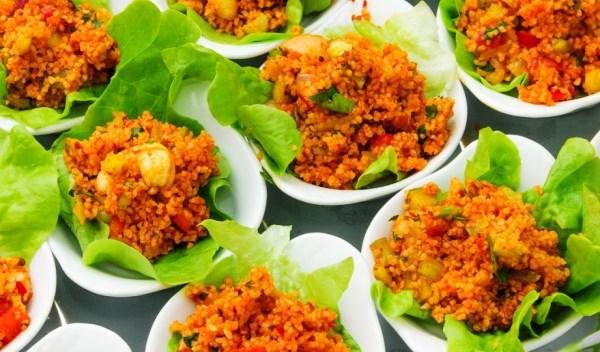 Кысыр — салат из булгура