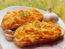 Горячие бутерброды с тыквой