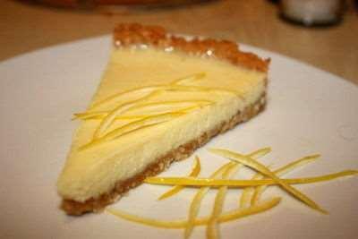 Лимонно-сливочный тарт