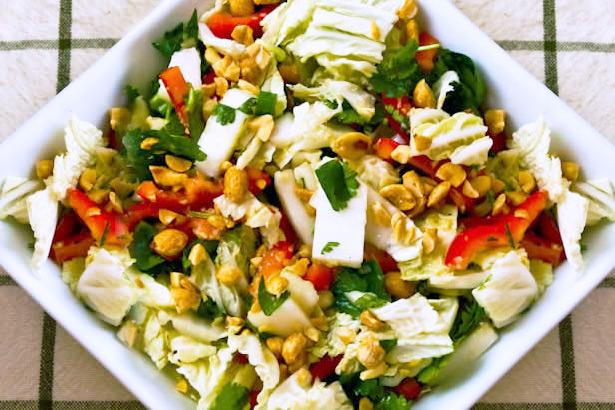 Приготовление салатов