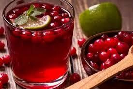 Виноградно-клюквенный пунш