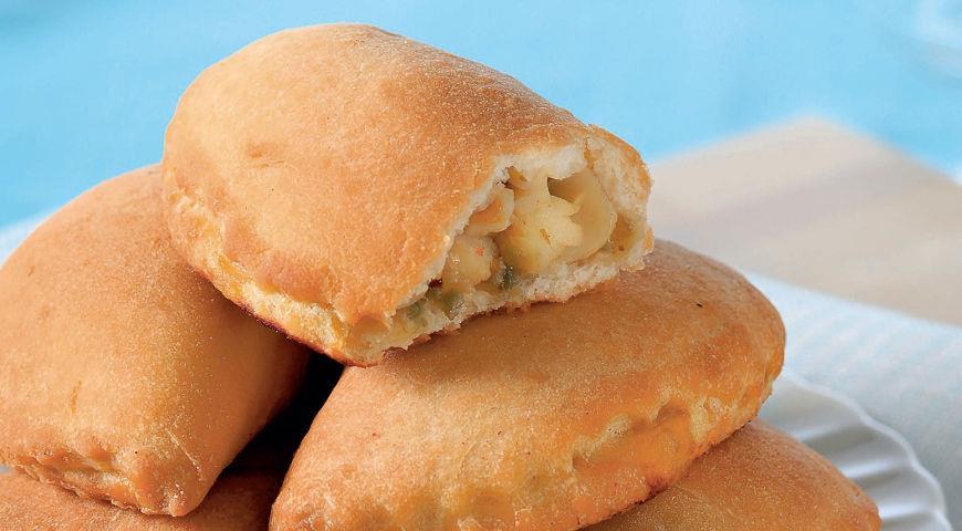 Пирожки с палтусом