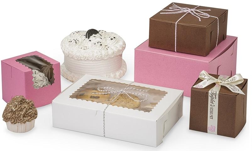 Упаковки для кондитерских изделий