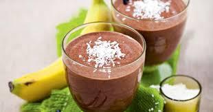 Бананово-шоколадный коктейль