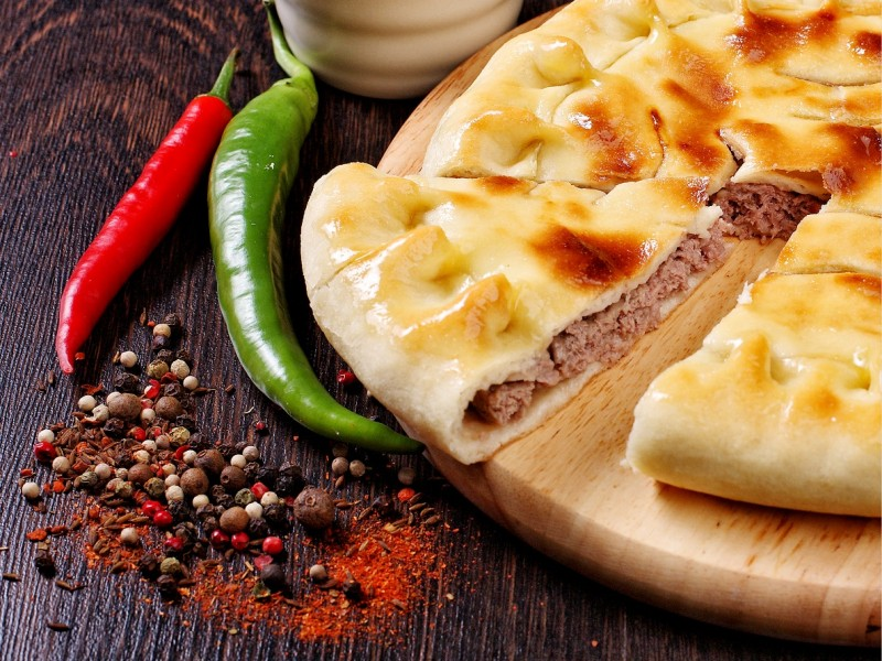 Вкусные осетинские пироги с доставкой