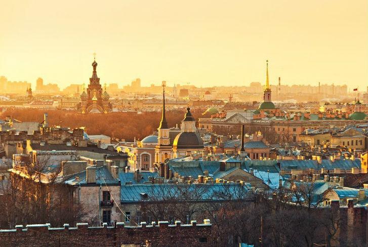 Неожиданная поездка в Санкт-Петербург