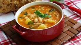 Крестьянский фасолевый суп