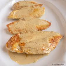 Куриная грудка в горчичном маринаде