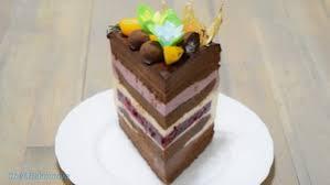 Муссовый торт «Черный лес»