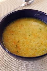 Суп из пшена с чесноком