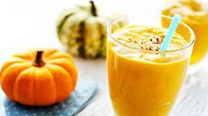 Тыквенно-апельсиновый смузи
