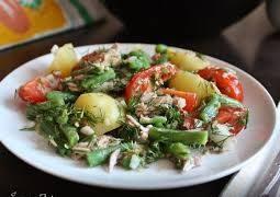 Салат с кенийской фасолью