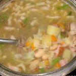 Гарбюр -густой крестьянский суп с капустой