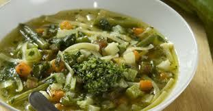 Суп-минестроне с песто
