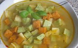 Суп-минестра «Триколор»