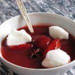 Сладкий суп из черной смородины с творожными клецками
