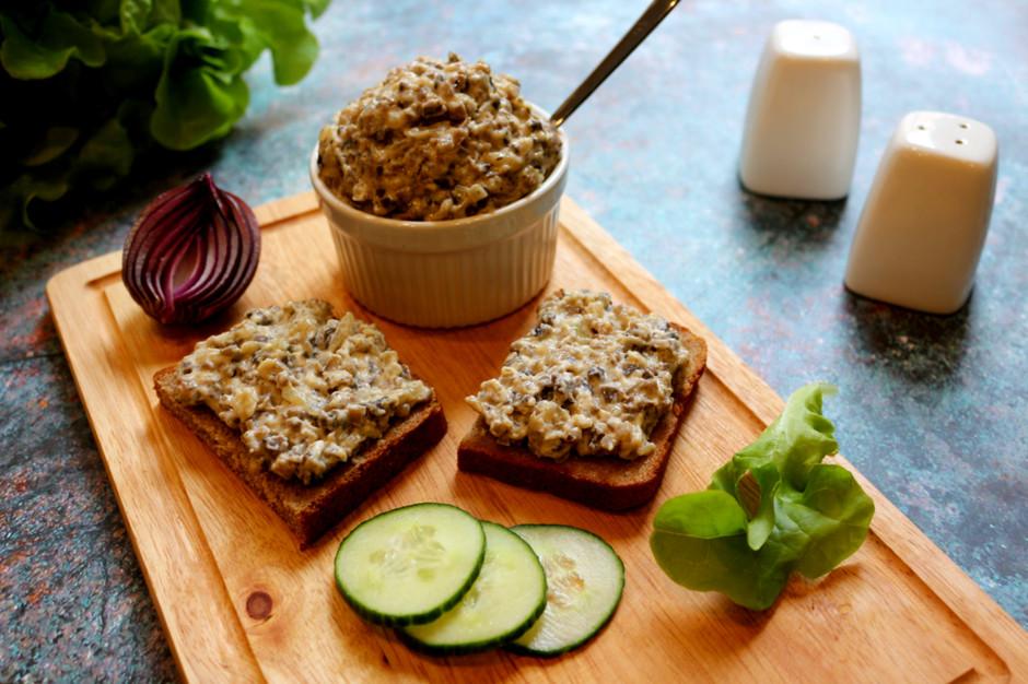 Намазка на хлеб из грибов