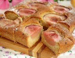 Деревенский пирог с персиками