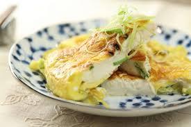 Вегетарианский омлет из тофу