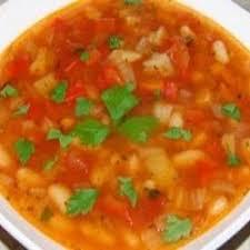 Мексиканский пряный суп с курицей