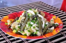 Спаржевая фасоль с картошкой (Judias con patatas)