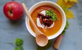 Суп тыквенно-яблочный