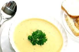 Овощной суп-пюре с манной крупой