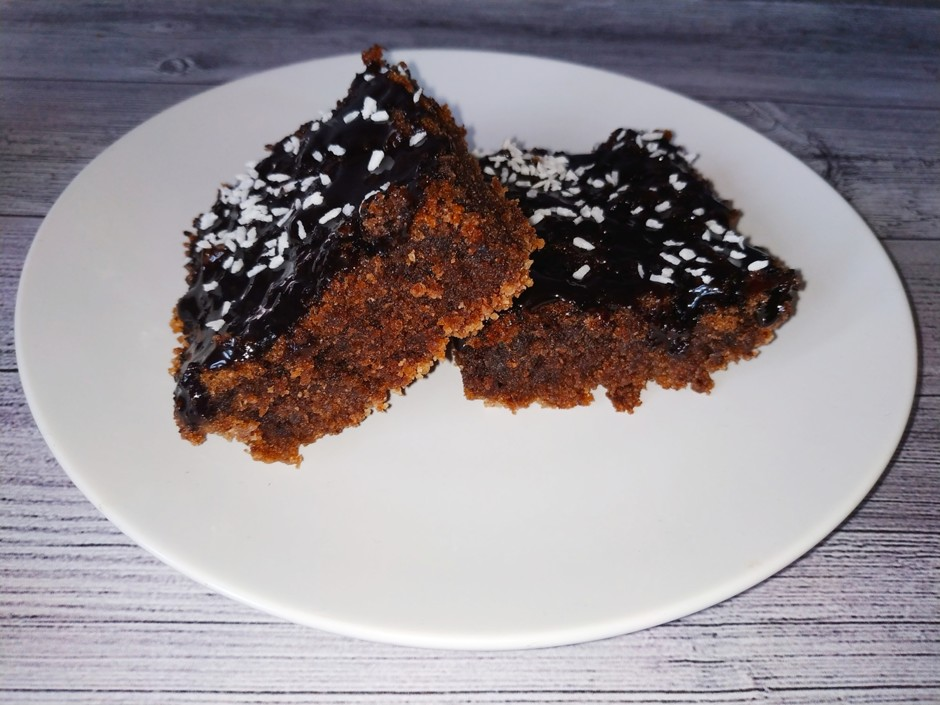 Шоколадный брауни с какао