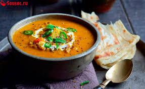 Индийский овощной суп дал